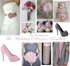 Wedding Ideas & Inspiration  Pink & Grey