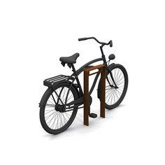 STREETLIFE CorTen Bicycle Racks. These thick-walled CorTen steel Bike Racks have a minimalist design