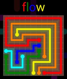 Flow Extreme Pack 2 - 11x11 - level 25 solution