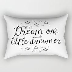 Dream on, little dreamer Rectangular Pillow