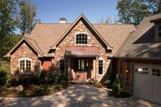 European Hillside Home (HWBDO75764) | European House Plan from BuilderHousePlans.com