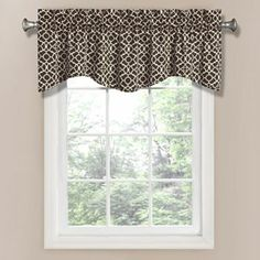 Waverly Lovely Lattice Window Valance - 50'' x 16''