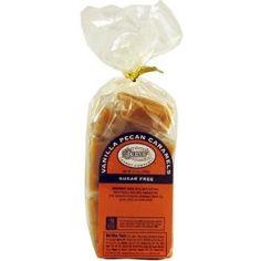 Judy`s Candy Co. Sugar Free Vanilla Pecan Caramels $14.98
