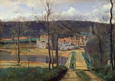 Camille Corot - Ville d'Avray, the Pond and the Cabassud House -