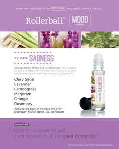 Release Sadness:: Rollerball MOOD Series