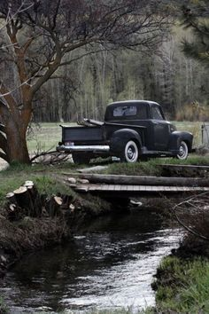 Perfect place…for a little fishing, some firewood and a beer..