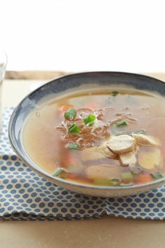 Chicken Noodle Soup (Grain Free, Paleo, Primal, Gaps, Gluten Free)- going to try this