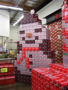 budweiser christmas grocery displays - Bing Images