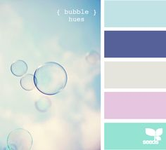bubbles, clouds, and color image