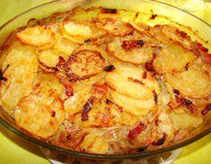 Recette - Pommes de terre à la boulangère | 750g