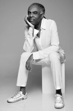 Gilberto Gil — Foto: Fernando Torquatto.