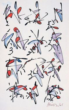 Brion Gysin, Untitled, 1961
