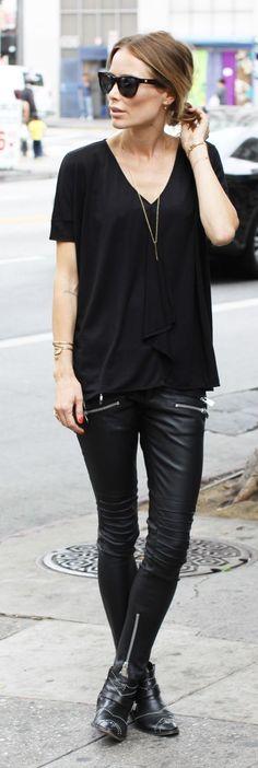 Total 'noir' Streetstyle