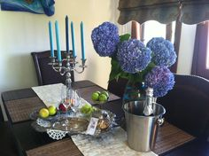 """""""Just married"""" Andrew g& Mary-Jane August 2015 at Lions Nine Just Married, Lions, Mary, Candles, Weddings, Table Decorations, Furniture, Home Decor, Lion"""