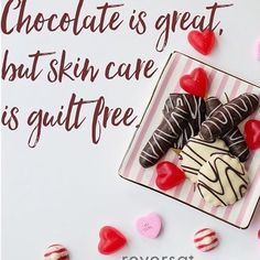 What's your guilty pleasure?  #chocolate #skincare #skincarejunkie #skincareaddict #canadianbrand #canadianlove #canadianskincare #madeincanada #igerscanada #valentinesday #valentinesgift