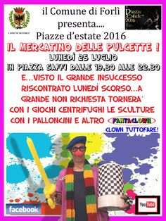 FantaClown in Piazza Saffi !