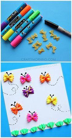 Bow-Tie Noodle Butterfly Craft for Kids Sie inetessieren sich für den einzigartigen Gentleman Look? Schauen Sie im Blog vorbei www.thegentlemanclub.de