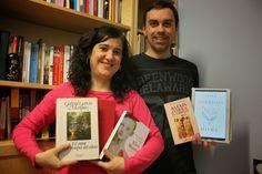 Para Marisa y Dragos, leer forma parte del disfrute de la vida y lo demuestran en cada encuentro del club de lectura.  Aquí están sus amores: colombiano, canadiense, griego y norteamericana.