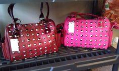 $35.00 each Studded Bags www.LesliesHandbags.Net