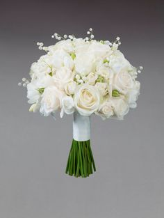 white wedding flowers bridal flowers - Page 39 of 100 - Wedding Flowers & Bouquet Ideas White Wedding Bouquets, Bride Bouquets, Flower Bouquet Wedding, Floral Wedding, White Rose Bouquet, White Roses Wedding, Freesia Bridesmaid Bouquet, Freesia Bouquet, Bridesmaid Flowers