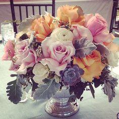 Enchanted FloristLas Vegas-gorgeous pastel flowers with lambs ear.