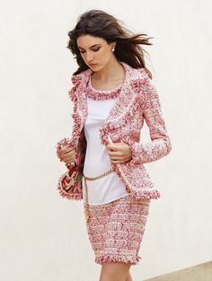 Brigitte Knit Mini Skirt | St. John Knits | St. John Knits American Couture
