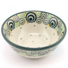 Bowl 3.9'' (10 cm) Green Circles