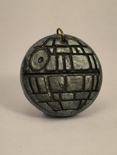 Star Wars Death Star Polymer Clay Charm by MadeofClayUK on Etsy