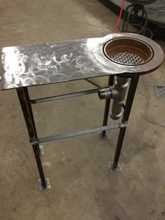 My Homemade Forge! - The Garage Journal Board