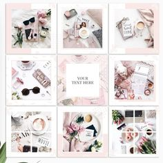 Makeup artist branding posts 58 Ideas for 2019 Instagram Feed, Instagram Design, Instagram Posts, Instagram Collage, Insta Layout, Artist Branding, Instagram Post Template, Social Media Design, Illustration Artists