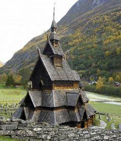 Borgund Stavkirke, Norway...