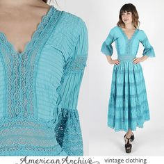 Mexikanische Kleid mexikanischen Hochzeit Kleid von AmericanArchive