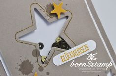STAMPIN' UP! born2stamp Karte Itty bitty Akzente - Wortfenster - Mit Liebe geschenkt - Mini treat bag Thinlits - Puenktchen-Spitzenband Perpetual Birthday Calender