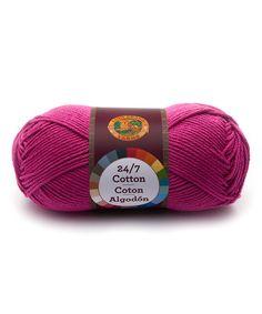 Love this Rose Cotton Yarn - Set of Three on #zulily! #zulilyfinds