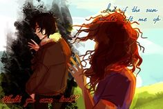 C'mon by panic... Nico Di Angelo and Hazel Levesque pic 20