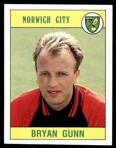 Panini Football 90 - Bryan Gunn Norwich City No. Football Stickers, Football Cards, Jason Bowen, Norwich City Fc, Uk Sites, Golden Days, Football Program, Swansea, Tottenham Hotspur