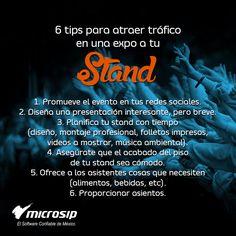 #TipsMicrosip 6 tips para atraer tráfico a tu stand en una Expo