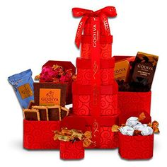 Sweet on You Valentine Gift Tower