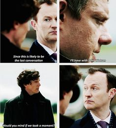 "LOOK AT MYCROFT IN THE LAST GIF HE'S LIKE ""YOU'RE GOING TO TELL HIM GO GET YOUR GOLDFISH LITTLE BROTHER"""