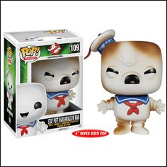 Stay-Puft Marshmallow Man (Toasted) Pop! - Kablamo