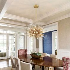 Modern Luxury Starburst 12 Exposed Light Metal Orb & Aluminum Rods Large Chandelier in Gold Floor Standing Lamps, Led Floor Lamp, Luxury Chandelier, Chandelier Ceiling Lights, Led Candelabra Bulbs, Gold Ceiling Light, Wood Pendant Light, Led Fixtures, Large Chandeliers