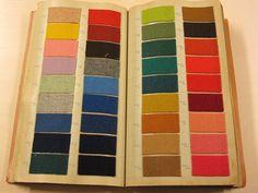 Wool samples. Stalenboek Winter 1970 C. Mommers & Co. / C. Mommers & Co. - Tilburg : C. Mommers & Co., 1970. Library TextielMuseum Tilburg