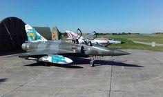 Mirage 2000 D & Mirage III E à Nancy