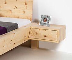 Nachtkästchen Alpinikone | Zirbenmöbel | Zirbenherz®
