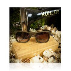 Bambus-Sonnenbrille Fahrer
