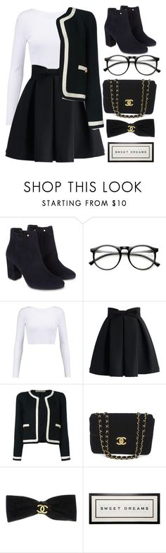 """""""Untitled #31"""" by kncwbettcr ❤ liked on Polyvore featuring Monsoon, Cushnie Et Ochs, Chicwish and Chanel"""
