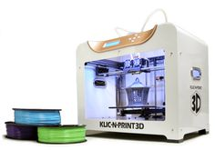 I just ordered my second 3D printer. This short blog post explains why I chose a Klic-N-Print 3D and why I bought it right now.  There will be much more about my new printer once I have it on hand and can try it out for myself.