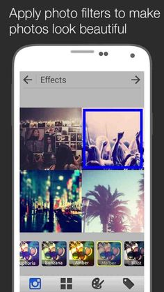 Instaframe App for Android - Instaframe is easy to use collage making app for you. Instaframe helps you add beautiful effects, lovely frames and add text to your photos in a funny doodle way and then save and share them with your friends and the world. #apps #app #picture #photo #collage #camera