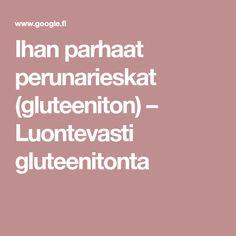 Ihan parhaat perunarieskat (gluteeniton) – Luontevasti gluteenitonta