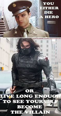 Winter Soldier. Quoting The Dark Knight<<but he basically did both?!!?